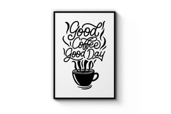 Coffee Quote Wall Art