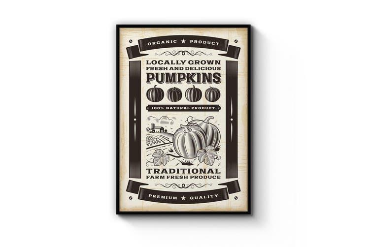 Pumpkin Farmhouse Wall Art
