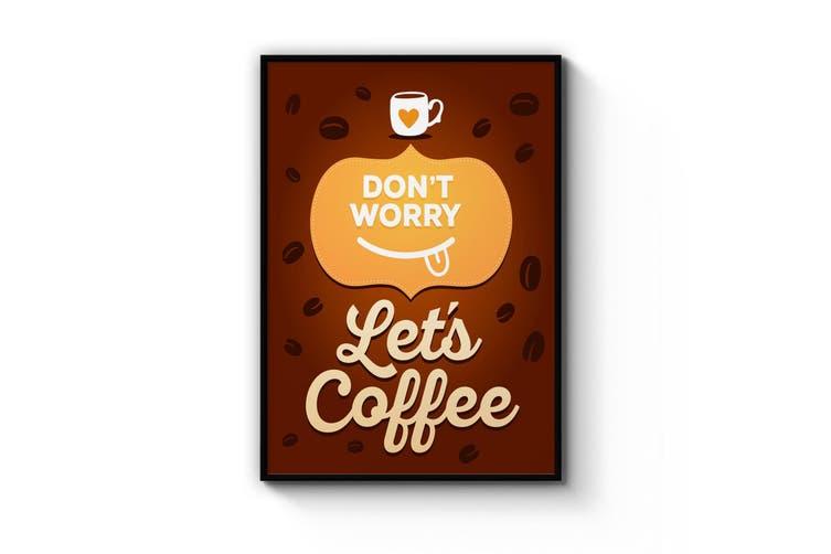 Coffee Cartoon Wall Art