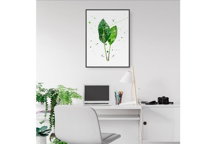 Green Leaf Wall Art