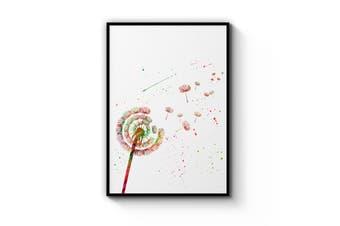 Dandelion Painting Wall Art
