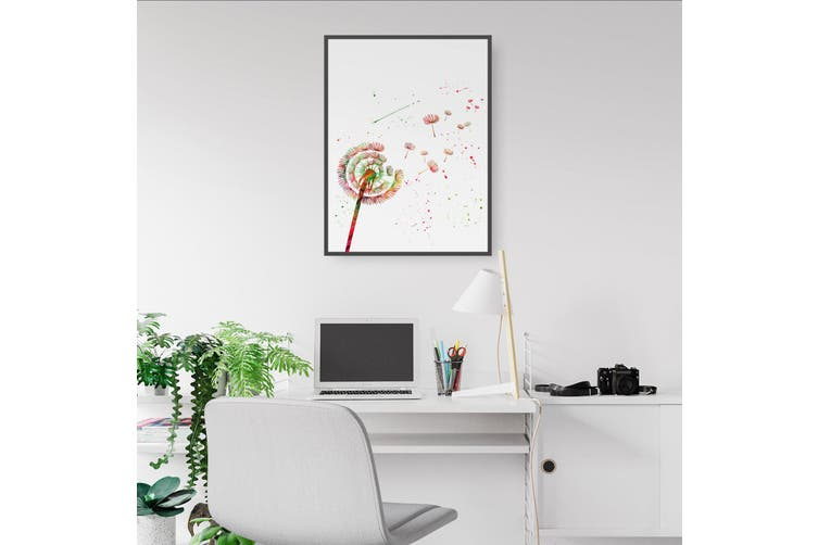 Dandelion Painting Wall Art