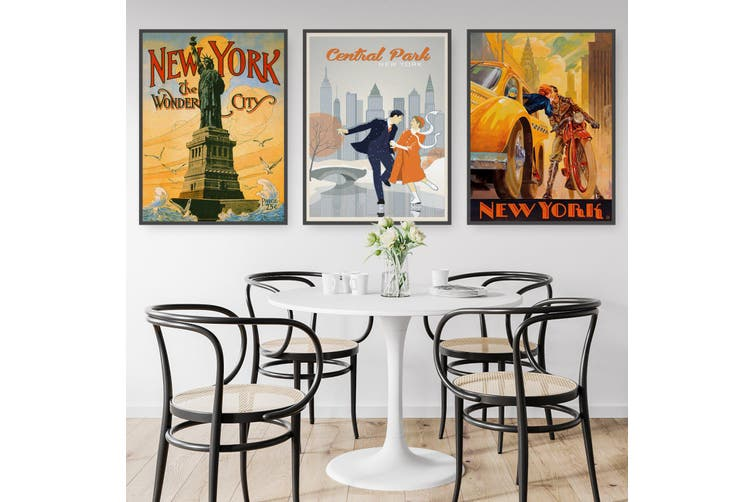 Set of Vintage New York Wall Art