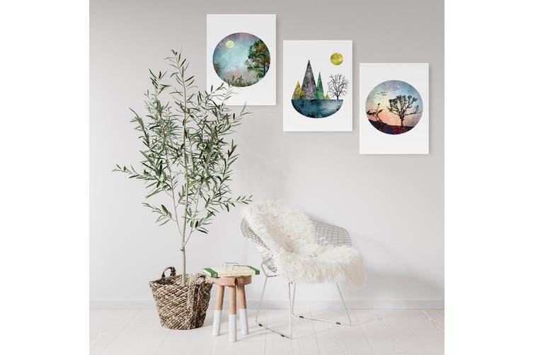 Set of Scandi Nature Wall Art