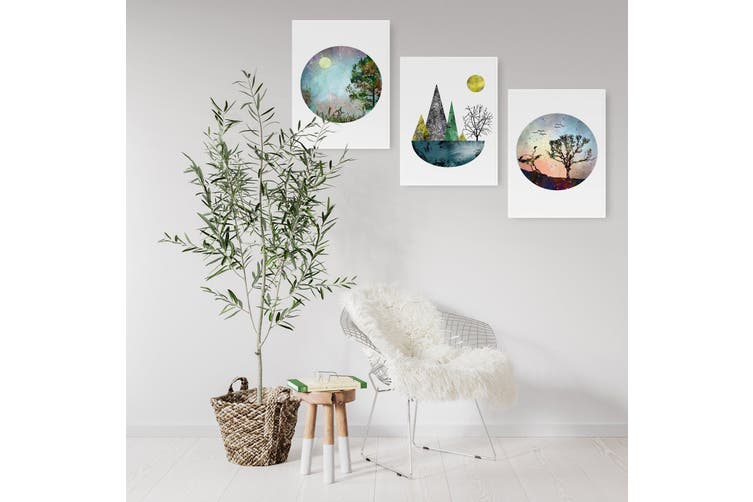 Set of Scandi Nature Wall Art