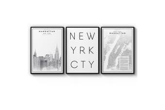 Set of New York Wall Art