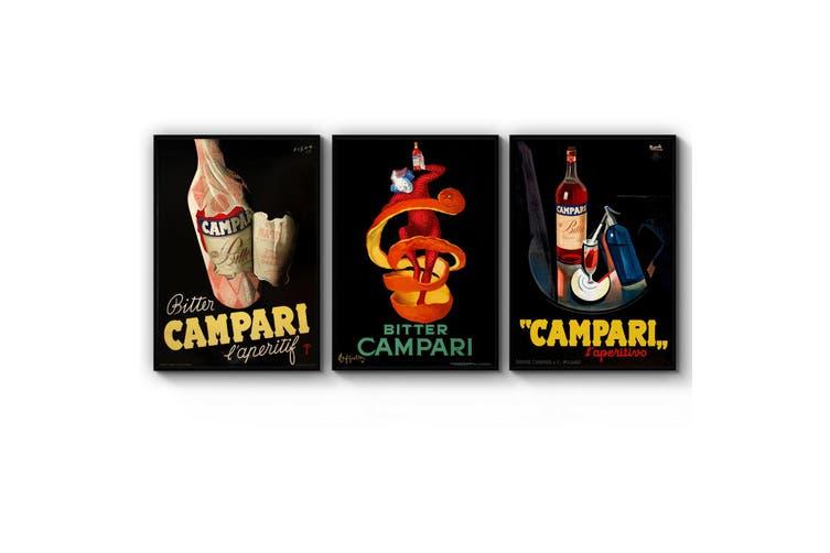 Set of Italian Campari Wall Art