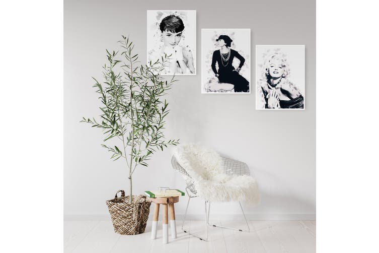 Set of Fashion Icons in Ink Wall Art