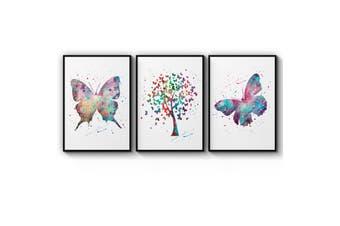 Set of Butterfly Wall Art