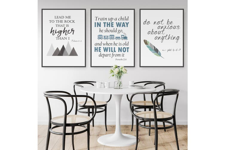 Set of Bible Quote Wall Art