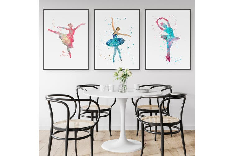 Set of Ballerina Wall Art