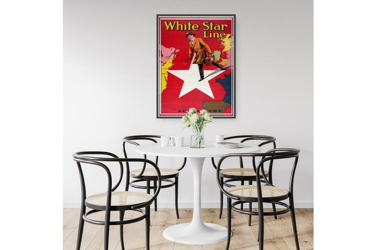 White Star Line - Apply Here Wall Art