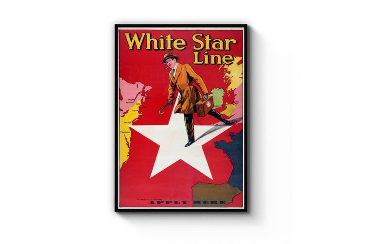 White Star Line - Apply Here Wall Art