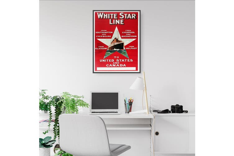 White Star Line - To United States and Canada Wall Art