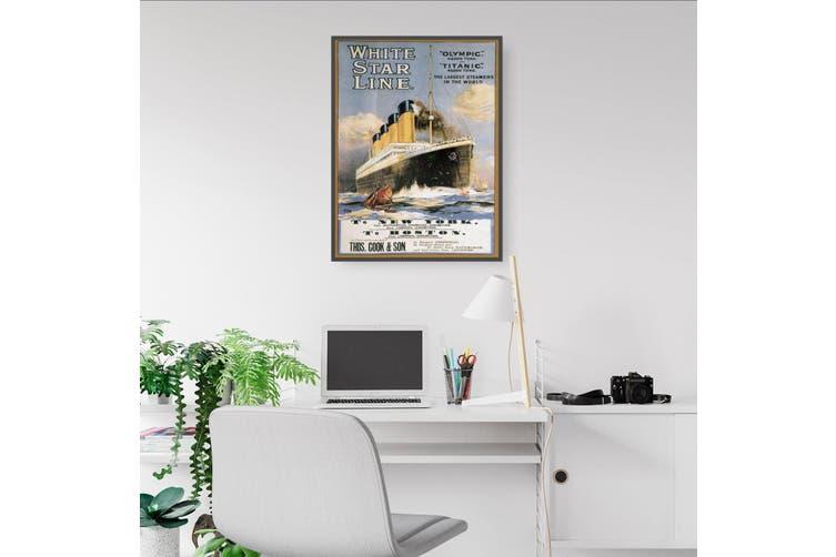 White Star Line - Titanic Wall Art