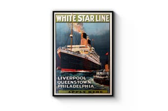 White Star Line Wall Art