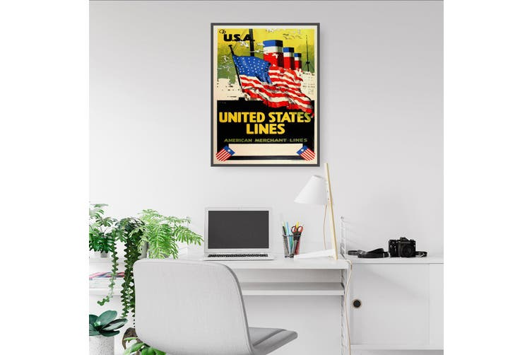 United States Lines Wall Art