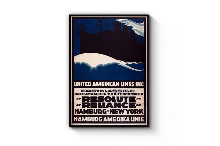 United American Lines Wall Art