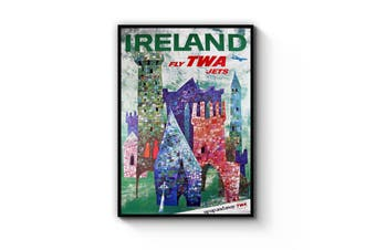 TWA to Ireland Wall Art