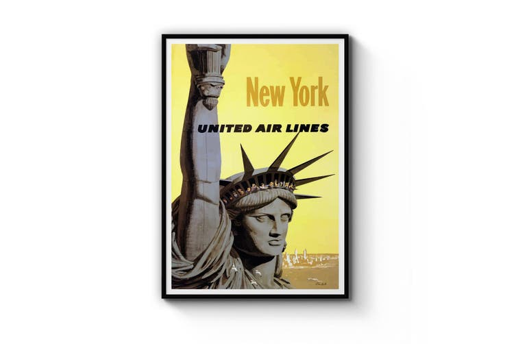 United Airlines, New York Wall Art