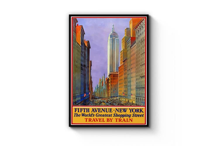 Fifth Ave, New York Wall Art