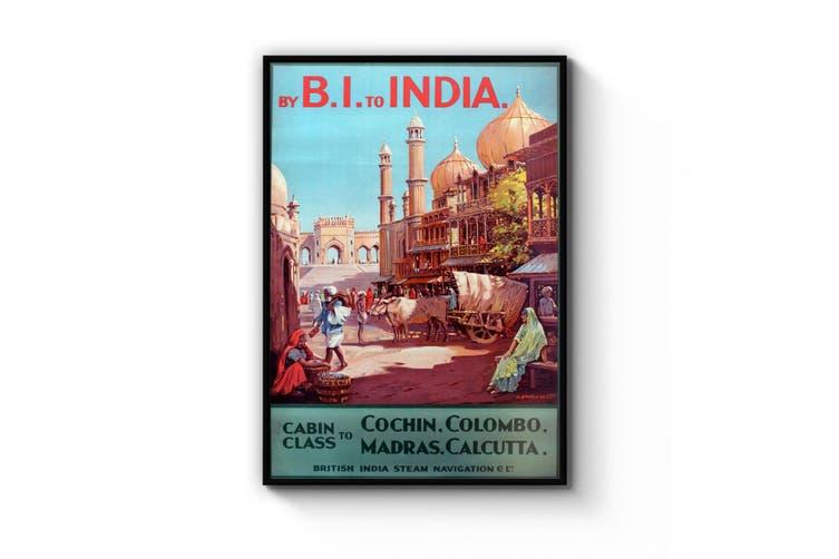 BI to India Wall Art