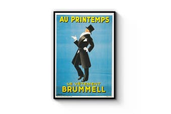 French Brummell Fashion Wall Art