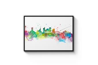 Sydney Skyline Wall Art