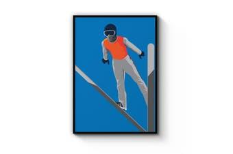 Retro Ski Wall Art