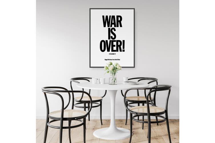 War Is Over - Christmas Card from John and Yoko Wall Art