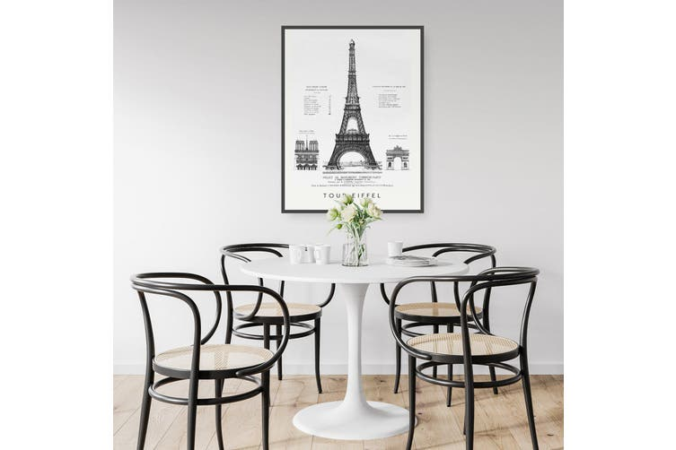 Eiffel Tower Wall Art