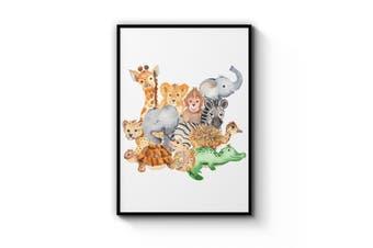 Animal Group Wall Art