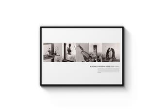 Empire State Construction Photographs Wall Art