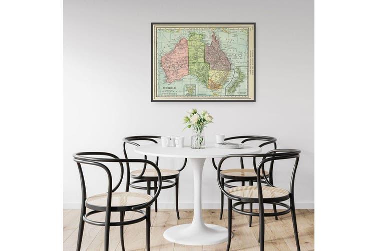 Australia Vintage Map Wall Art