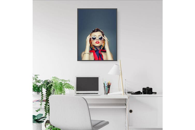 Fashion Model Wall Art
