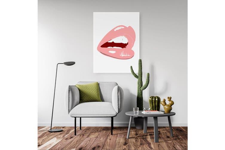 Pink Lips Wall Art