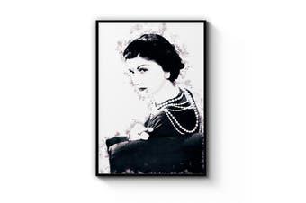 Coco Chanel Portrait Wall Art