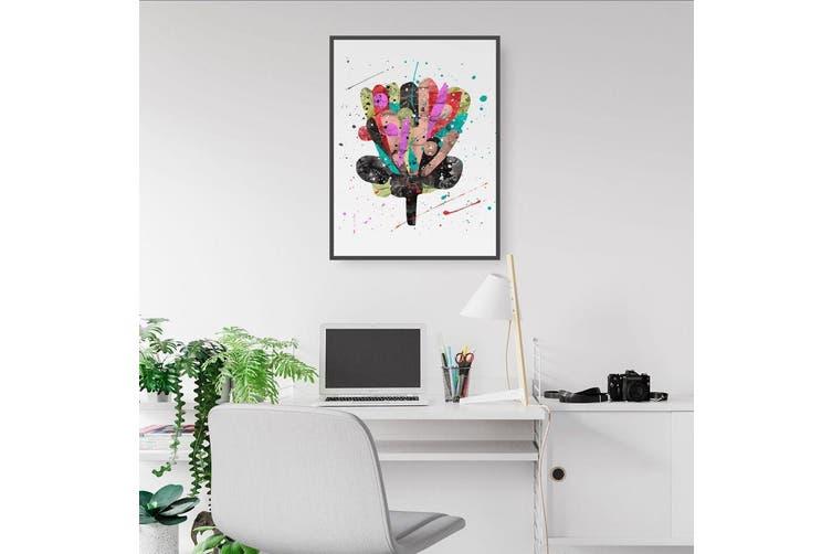 Scandi Flower Wall Art