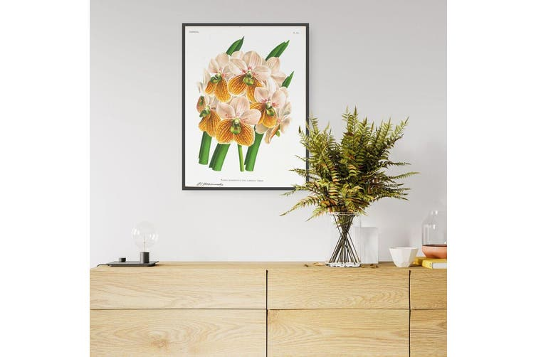 Yellow Flower Botanical Wall Art