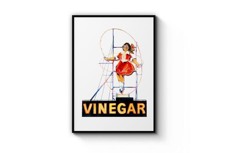 Vinegar Girl Wall Art