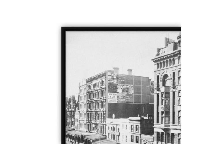 Melbourne Streets Vintage Photograph Wall Art