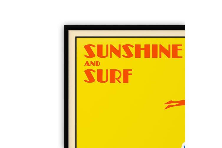 Sunshine and Surf, Australia Wall Art