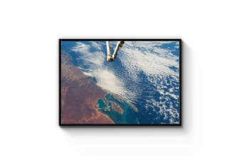 Shark Bay, Australia Satellite Wall Art