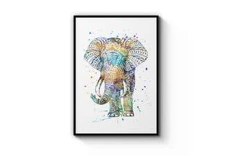 Elephant Mandala Wall Art