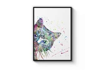 Cat Mandala Wall Art