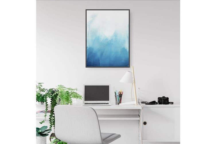 Blue Abstract Wall Art