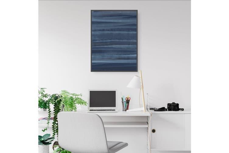 Abstract Blue Wall Art