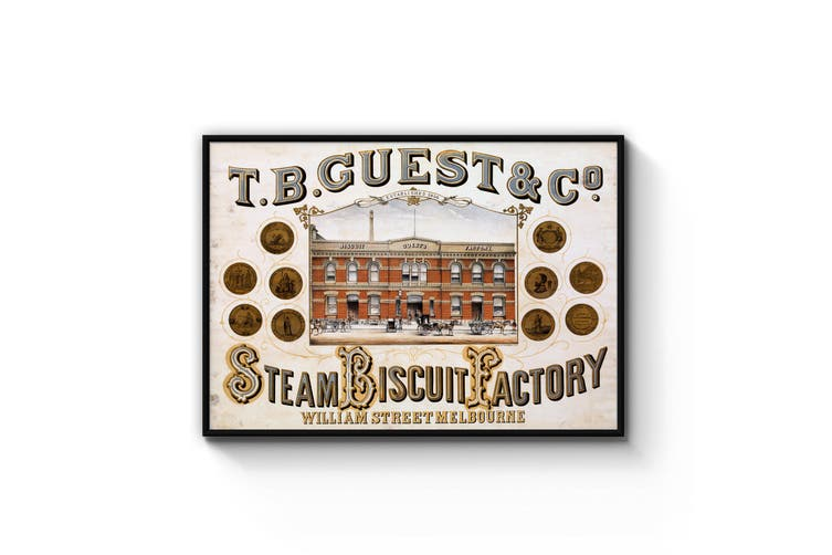 Steam Biscuit Factory, Melbourne Wall Art