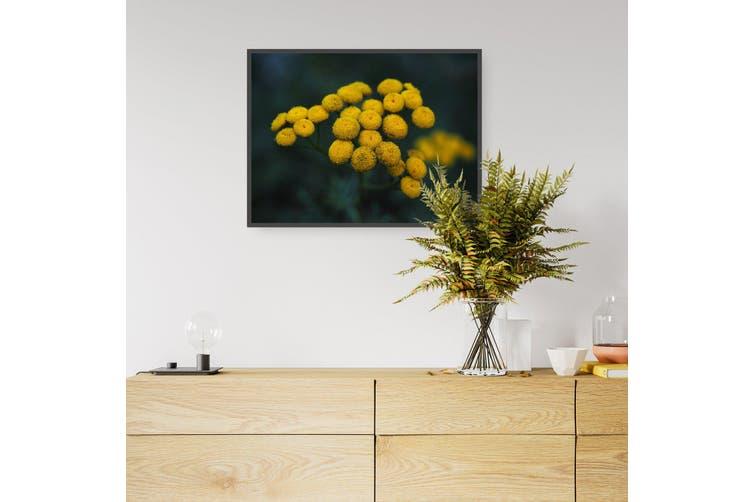 Yellow Flower Vintage Botanical Kitchen Wall Art