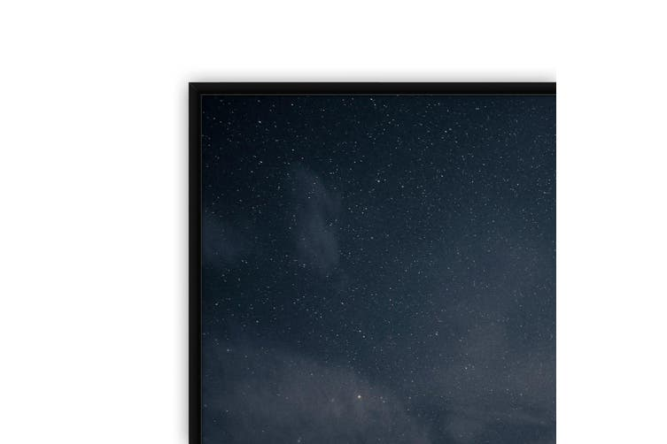 Starry Mountains Night Photograph Wall Art